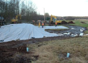 Tanker Truck Rollover and Site Restoration